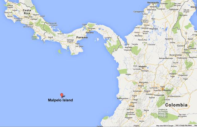 malpelo_island_map
